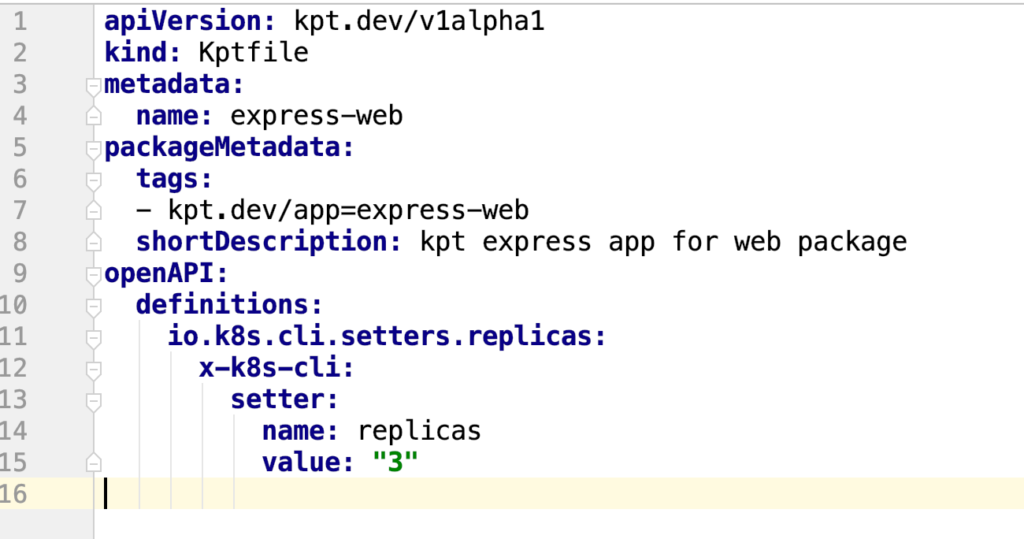 Kptfile After Replicas